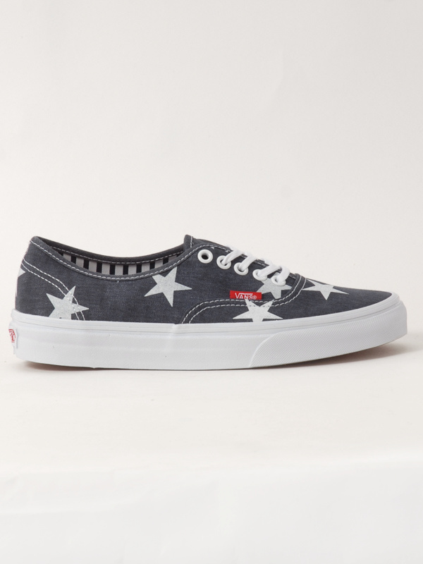 Vans Boty Authentic (stars Stripe) - 7usw šedá