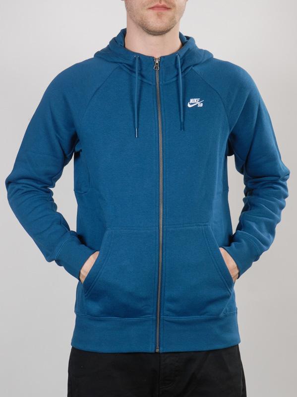 Nike Sb Mikina Icon 496 - Xl modrá