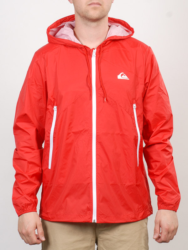 Quiksilver Bunda Everyday Rqr0 - L červená