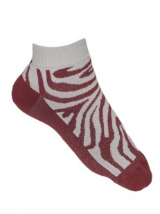 FUNSTORM ponožky LESLY claret