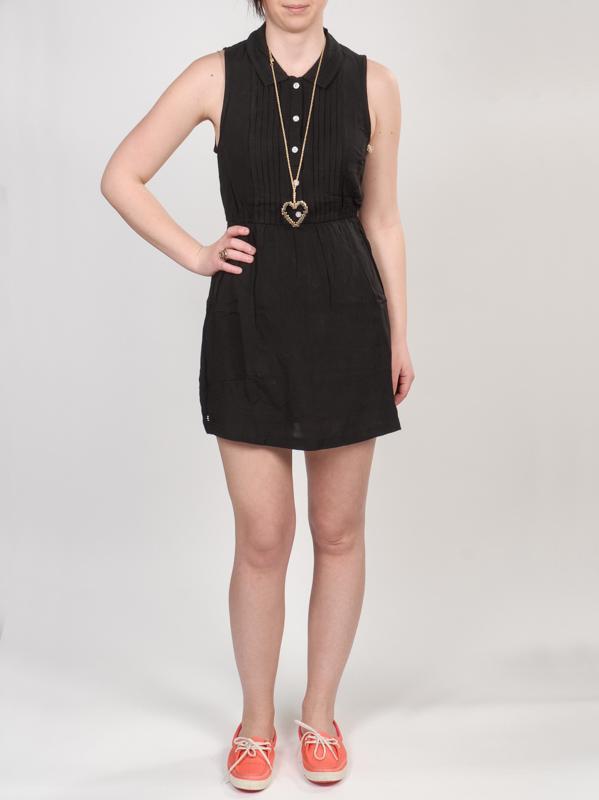 Element Šaty Jolie Black - S černá