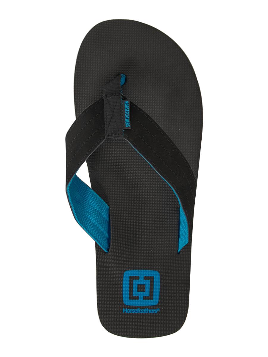 Horsefeathers Žabky Cortez Blue - 7us černá