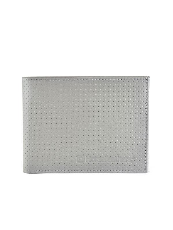 Horsefeathers Peněženka Gear Perforated Gray šedá