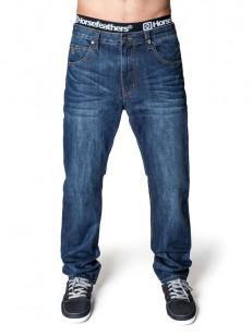 HORSEFEATHERS kalhoty SMITH mid blue