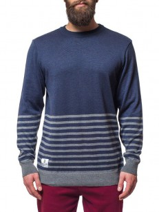 HORSEFEATHERS svetr EVO heather navy