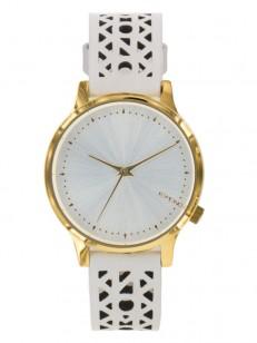 KOMONO hodinky ESTELLE CUTOUT WHITE GOLD