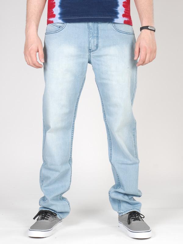 Rip Curl Kalhoty Straight Light Blue - 32 modrá