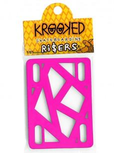 KROOKED podložky RISER HOT PINK