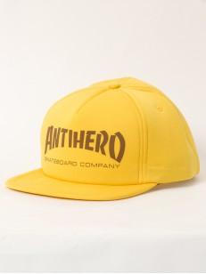 ANTIHERO kšiltovka SKATE CO. YLLW