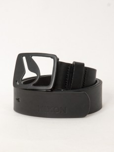 NIXON pásek ICON CUT OUT ALLBLACK