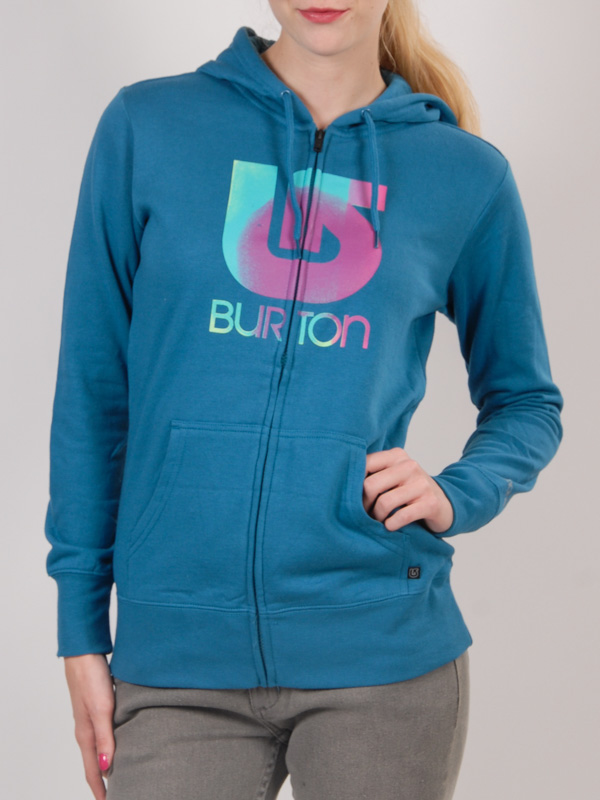 Burton Mikina Logo Vert Pacifico - S modrá