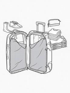 BURTON cestovní kufr CONVOY BLOTTO