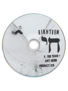ANTIHERO dvd ISRAEL ADVENTURE ZIN WHT/BLK