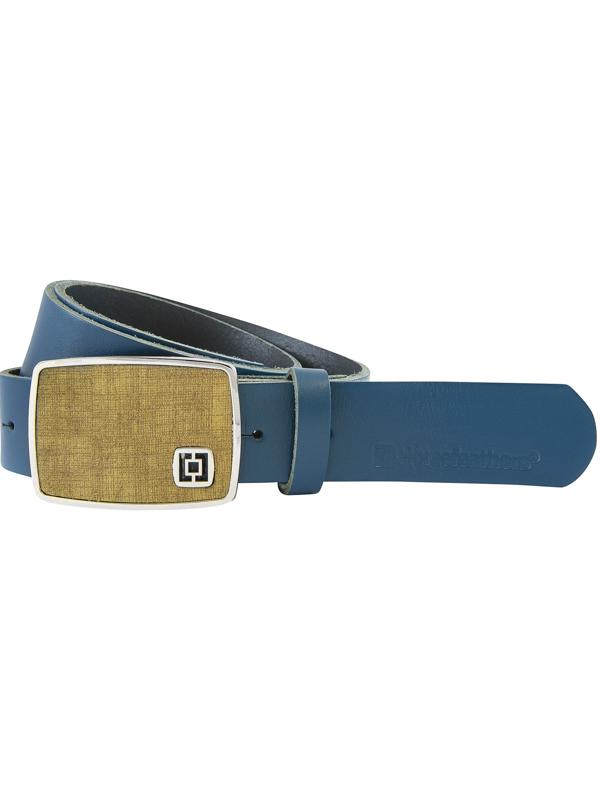 Horsefeathers Pásek Fred Petrol modrá