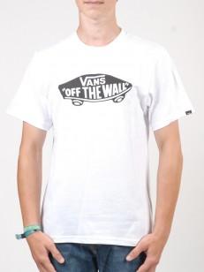 VANS triko OTW White/Black