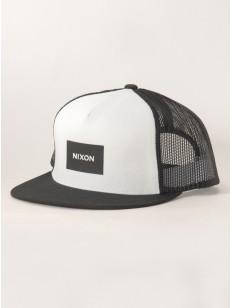 NIXON kšiltovka TEAM BLACKWHITE