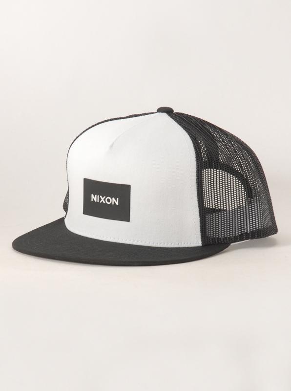 Nixon Kšiltovka Team Blackwhite černá