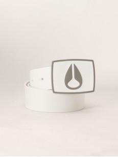 NIXON pásek BRODIO WHITE