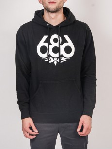 686 mikina WREATH black
