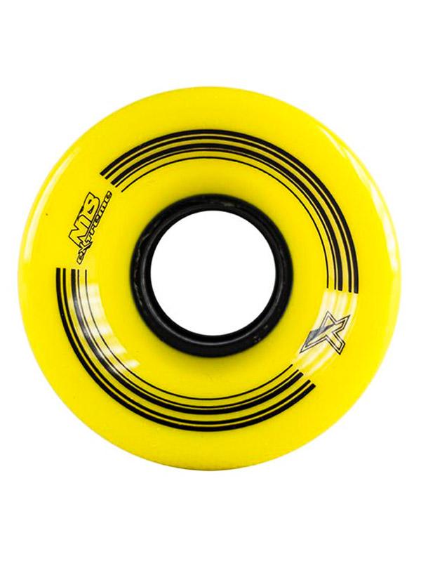 Nils Pennyboard Kolečka Extreme Yellow 60 žlutá