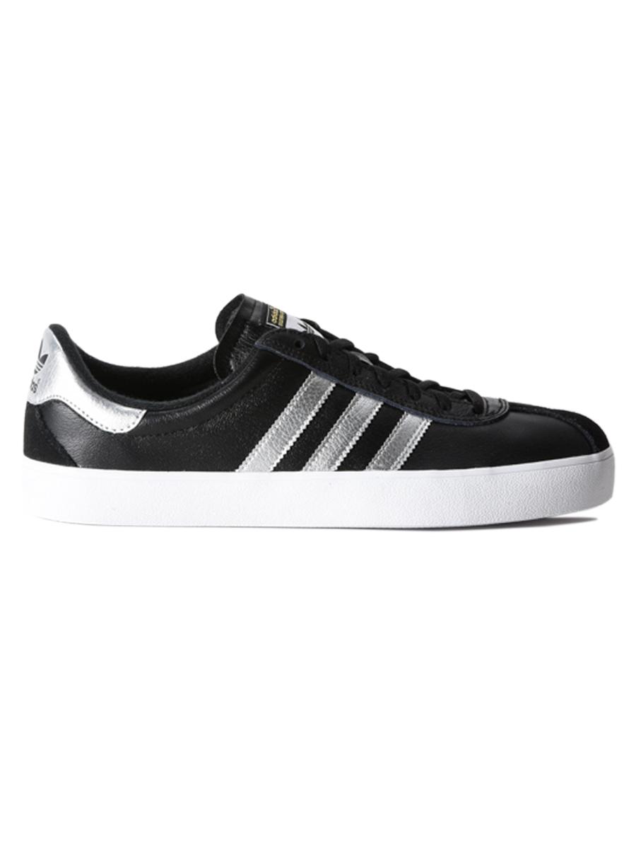 Adidas Boty Skate Adv Blk/slv/wht - 10us černá