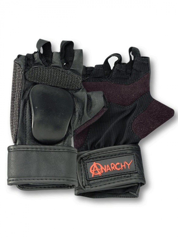 Anarchy Longboard Rukavice Ramp Black - S černá