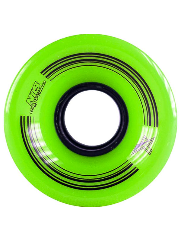 Nils Pennyboard Kolečka Extreme Green - 60 zelená