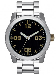 NIXON hodinky CORPORAL SS ONE GRY