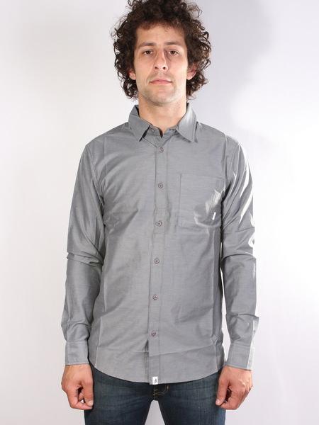 Altamont Košile Alass 2 Black - L šedá