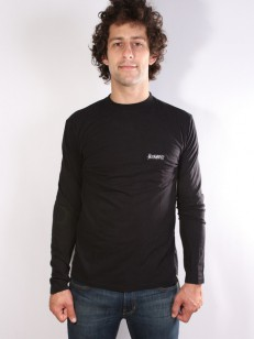 ALTAMONT triko ONE LINER EMBROIDERY BLACK