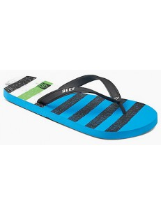 REEF žabky SWITCHFOOT PRINTS BLUE GREEN