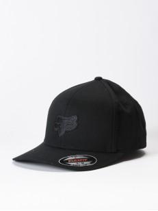 FOX kšiltovka LEGACY Black/Black