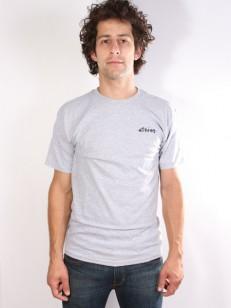 ETNIES tričko ROUGH ONE GREY/HEATHER