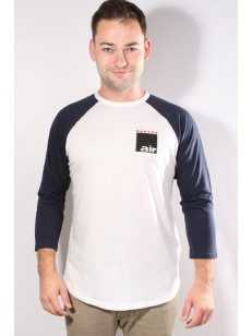 BURTON triko AIR RAGLAN STOUT WHITE