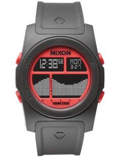 NIXON hodinky RHYTHM GRAY/NEON ORANGE