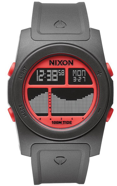 Nixon Hodinky Rhythm Gray/neon Orange