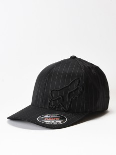 FOX kšiltovka FLEX 45 Black Pinstripe