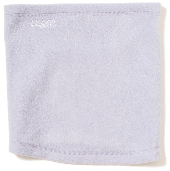 Clast Šátek Fleece Anthracite bílá