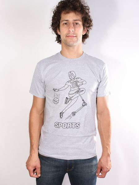 Altamont Triko Sports Fan Grey/heather - L šedá