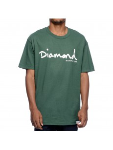 DIAMOND SUPPLY CO triko OG SCRIPT TANK FOREST