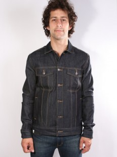 ALTAMONT bunda RYDER DENIM JACKET INDIGO RAW