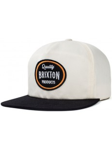 BRIXTON kšiltovka HENRY WHITE/BLACK