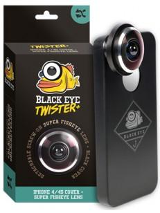 BLACK EYE púzdro IPHONE 4S TWISTER