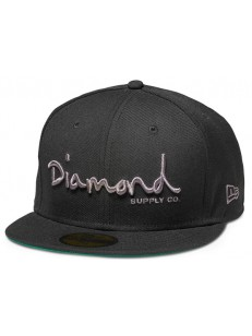 DIAMOND SUPPLY CO kšiltovka OG SCRIPT FITTE NEW ER