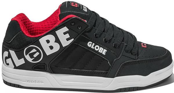 Globe Boty Tilt-kids Night/red - Eur 35 černá