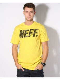 NEFF triko SPRITTIE YELLOW