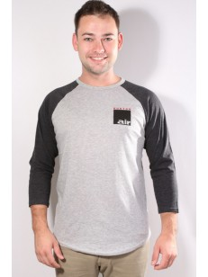 BURTON triko AIR RAGLAN GRAY HEATHER