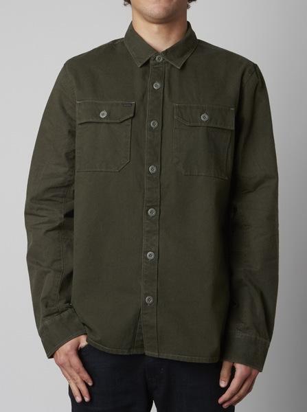 Fox Košile Sangre Army - Xl zelená