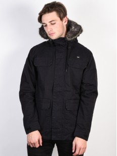 GLOBE bunda GOODSTOCK THERMAL PARKA Black