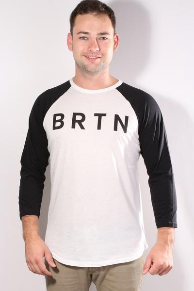 Triko Burton Brtn Raglan Stout White n